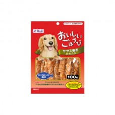 R & D Chicken Fillet Rolled Small Pollack Dog Treats 100g