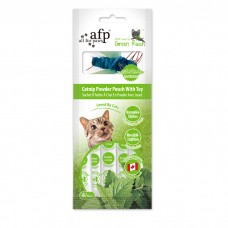 AFP Green Rush Catnip Powder Pouch With Toy (6 Sachets)