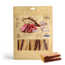 Absolute Bites Fresh Cut Tuna Steak Dog Treat 360g