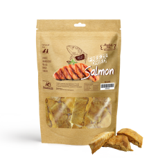 Absolute Bites Freeze Dried Salmon For Dogs & Cats Treats  50g