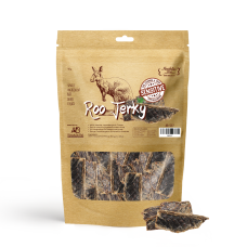Absolute Bites Air Dried Roo Jerky Dog Treats 90g