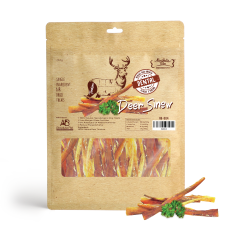 Absolute Bites Air Dried Deer Sinew Dog Treat 210g