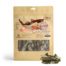 Absolute Bites Air Dried Cod Fish Platter Dog Treat 400g