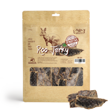Absolute Bites Air Dried Roo Jerky Dog Treats 220g