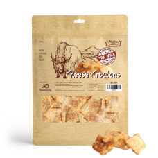 Absolute Bites Himalayan Yak Cheese Croutons Dog Treats 280g