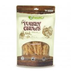 AFreschi Srl Knotted Turkey Chew Tendon Bone Dog Treat 130g