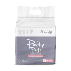 Altimate Pet Antibacterial Odour Control Fragrance Free Potty Pads (Small) 80's
