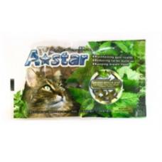 Armonto A-Star Cat Dental Treat Star Shape Flavor Cheese 15g
