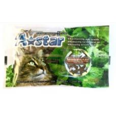 Armonto A-Star Cat Dental Treat Star Shape Flavor Tuna 15g