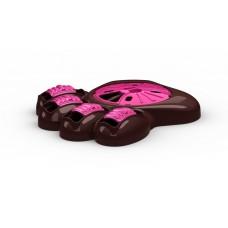 Aikiou Interactive Dog Feeder Pink