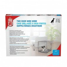 Dogit Two Door Wire Home Crates With Divider Small