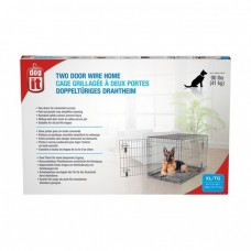 Dogit Two Door Wire Home Crates With Divider XLarge