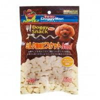 Doggyman Biscuit Mini Milk Flavor 80g