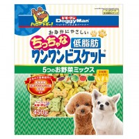 Doggyman Low Fat Tiny Bowwow Biscuit For Dogs 450g