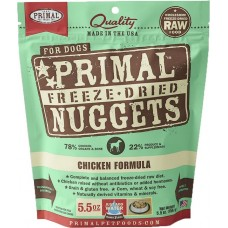 Primal Dog Freeze Dried Nuggets Chicken 14oz (2 Packs)