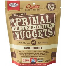 Primal Dog Freeze Dried Nuggets Lamb 14oz (2 Packs)