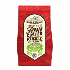 Stella & Chewy's Dog Raw Coated Kibble Duck 22Lb