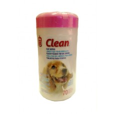 Dogit Clean Ear Wipes 70's