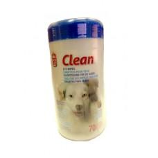 Dogit Clean Eye Wipes 70's