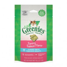 Feline Greenies Dental Treats Savory Salmon 60g
