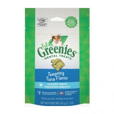 Feline Greenies Dental Treats Tempting Tuna 60g