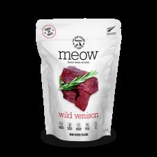 MEOW Freeze Dried Raw Wild Venison Cat Treats 50g