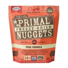 Primal Cat Freeze Dried Nuggets Pork 14oz (2 Packs)