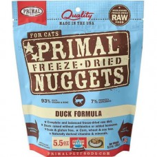 Primal Cat Freeze Dried Nuggets Duck 14oz (2 Packs)