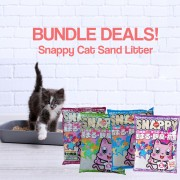 Snappy Cat Sand Litter