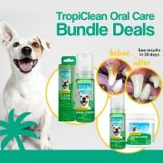 Tropiclean Oral Care Bundle Deals