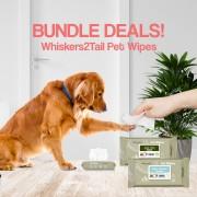Whiskers2Tail Pet Wipes Bundle Deals