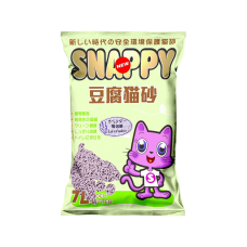 Snappy Cat Tofu Cat Litter Lavender 7L