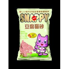 Snappy Cat Tofu Cat Litter Peach  7L
