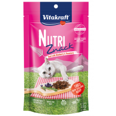 Vitakraft Nutri Znack Beef With Blueberry & Rosemary 40g  (3 Packs)