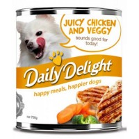 Daily Delight Healthy Choice Juicy Chicken & Veggy 700g
