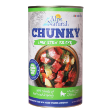 Alps Natural Chunk Canned Lamb Dog Wet Food 1230g