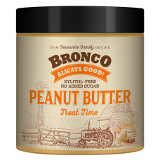 Bronco Peanut Butter Treat Time Dog Treats 250g