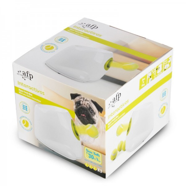 AFP Interactive Hyper Fetch Mini Ball Throwing Toy for Dogs