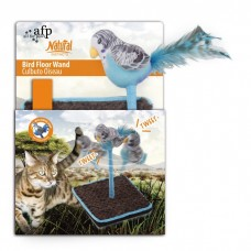 AFP Bird Floor Wand with Chirping Sound Blue