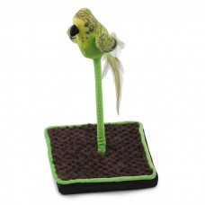AFP Bird Floor Wand with Chirping Sound Green