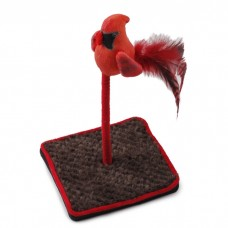 AFP Bird Floor Wand with Chirping Sound Red