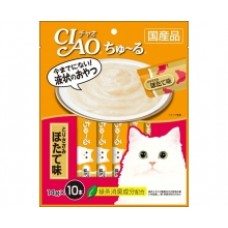 Ciao Chu ru Chicken Fillet Scallop with Added Vitamin and Green Tea Extract 14g x 10pcs