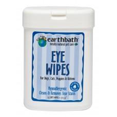 Earthbath Eye Wipe 25's