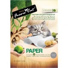 Fussie Cat Natural Paper Cat Litter 7L
