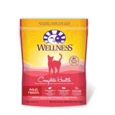 Wellness Cat Complete Health Adult Salmon, Salmon Meal & Rice 6Lb
