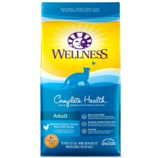 Wellness Cat Complete Health Adult Deboned Chicken, Chicken Meal and Rice 6Lb