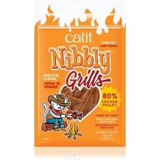 Catit Nibbly Grain Free Grills Chicken & Lobster Cat Treats 30g