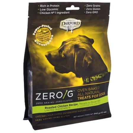 Darford Zero/G Roasted Chicken Dog Treats 340g