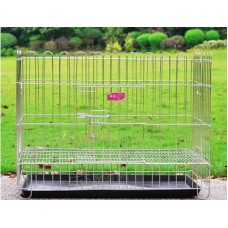 Deluxe Heavy-Duty Dog Cage 2.5''