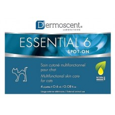 Dermoscent Essential 6 Spot-On Skin Care Cats (4 Tubes)